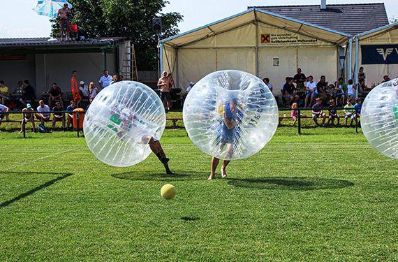 Bubble-Fußball