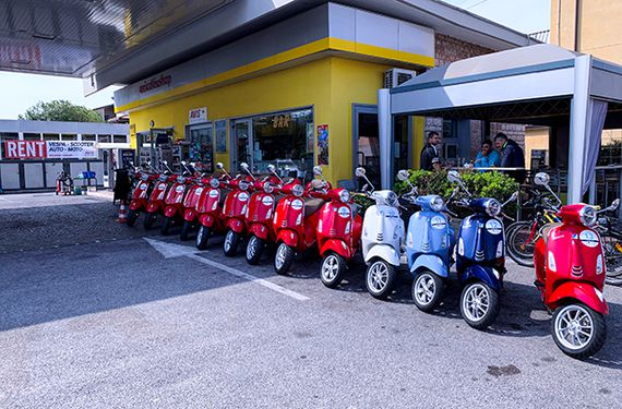 Vespa Tour am Gardasee