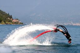 Flyboard fliegen am Gardasee