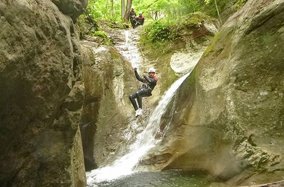 Canyoning Tagestour am Walensee