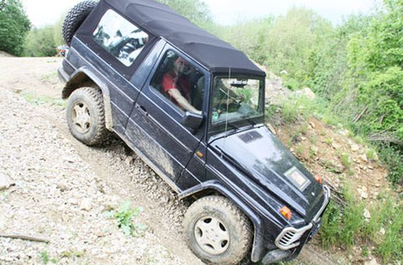 Mercedes Offroad Training