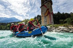 Rafting, Mega Swing & Flying Fox im Ötztal