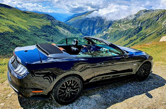 Ford Mustang mieten Wochenende (3 Tage)