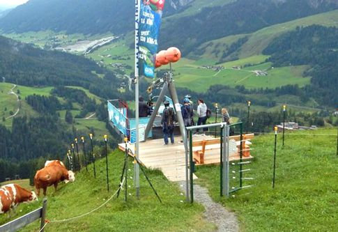 Flying Fox XXL in Leogang