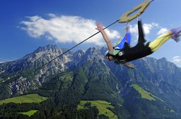 Flying Fox XXL im Salzburger Land mit Video