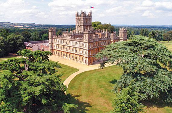 Downton Abbey-Tour bei London