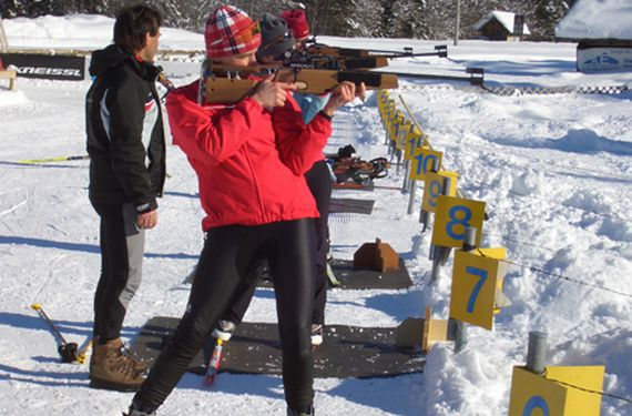 Biathlon Kurs in Garmisch (1 Tag)