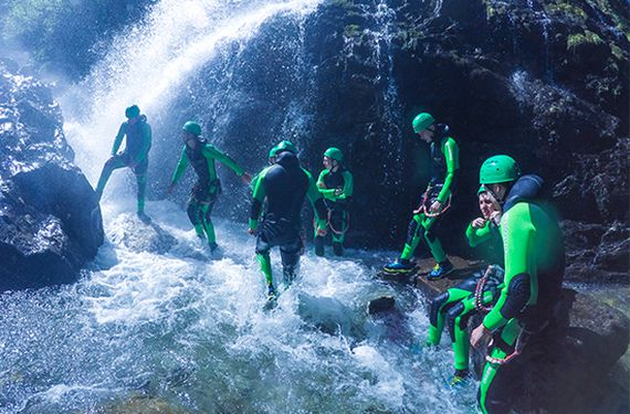 Canyoning-Tour & Übernachtung in Tirol