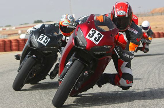 Superbike Training mit Leihmotorrad