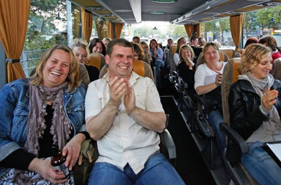 Comedy Sightseeing-Bustour