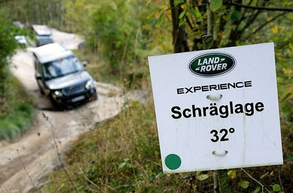 Land Rover Offroad Starter-Experience bei Wuppertal