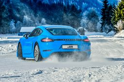 Eis Drift Training im Thomatal