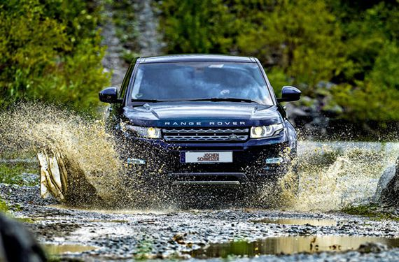 Land Rover Offroad-Experience bei Wuppertal