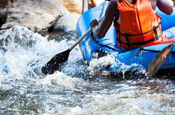 Rafting & Canyoning-Tour in Kössen