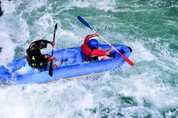 Power-Rafting bei Kiefersfelden