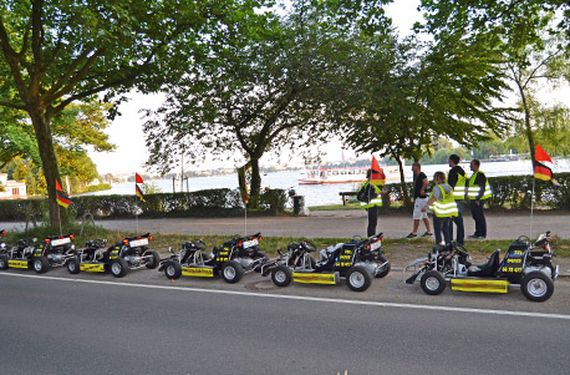 City- & Überland-Kart-Tour Hamburg